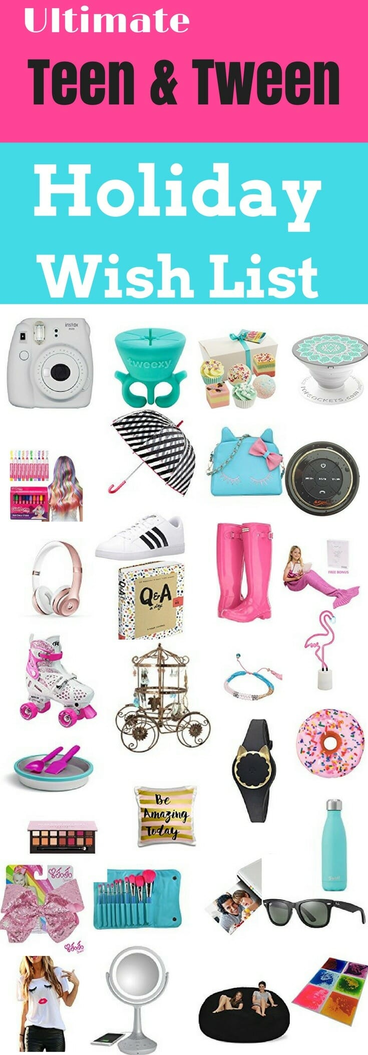 Ultimate Gift Guide For Tween & Teenage Girls
