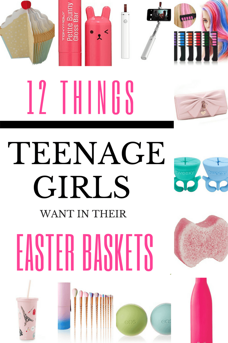 12 things to put in your teenage girls easter basket looking for easter basket ideas for teen and tween girls heres 12 awesome no candy negle Choice Image