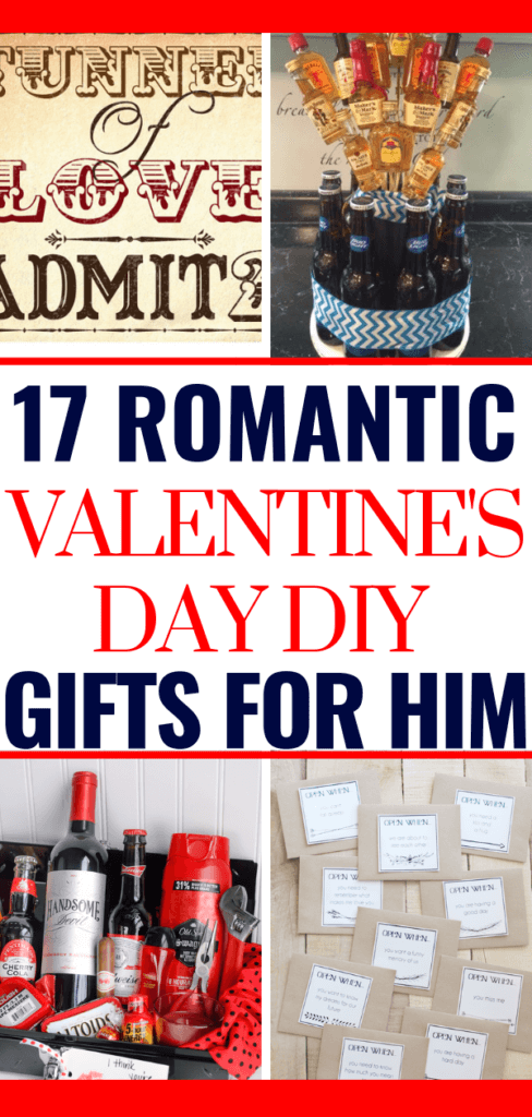 17 Diy Valentine S Day Gifts For Men Creative Romantic Gifts For Him