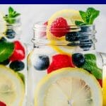 Detox Water Recipes for Weight Loss Amp up your weight loss with these 20 detox water recipes that help burn fat, clear skin, and banish bloat! Lose up to 10 pounds with the Jillian Michaels detox drink or flush fat with yummy apple cider vinegar and lemon! Whether you're looking for flat belly detox water or detox water recipes for your next cleanse these fabulous tasting fruit infused waters will not disappoint! #detoxwater #weightlossrecipes