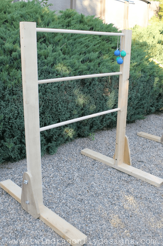 DIY Ladder Golf Game Twin Dragonfly Designs