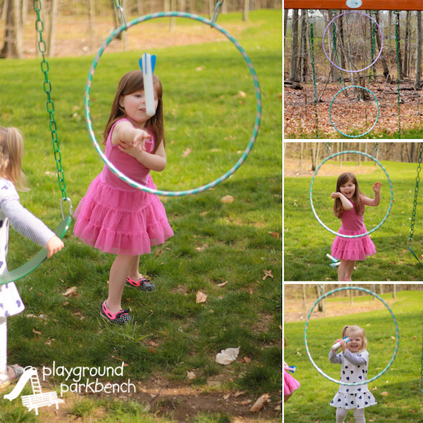 Hula Hoop Games from Playground Parkbench