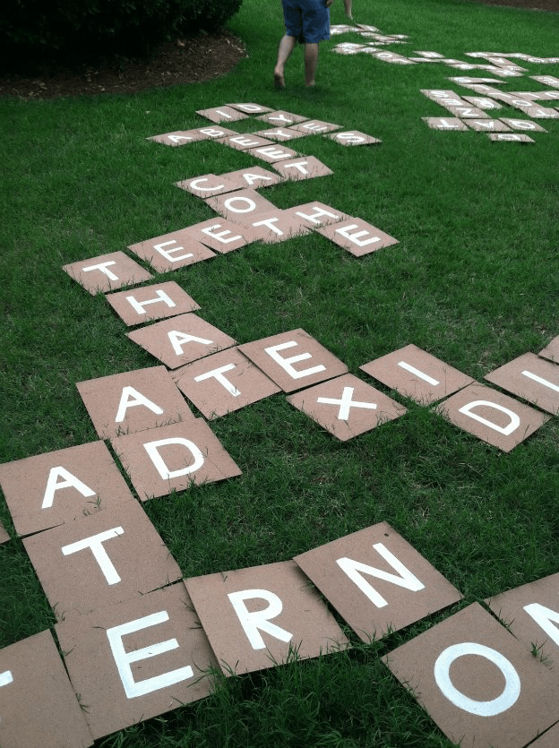 DIY Backyard Games Constantly Lovestruck