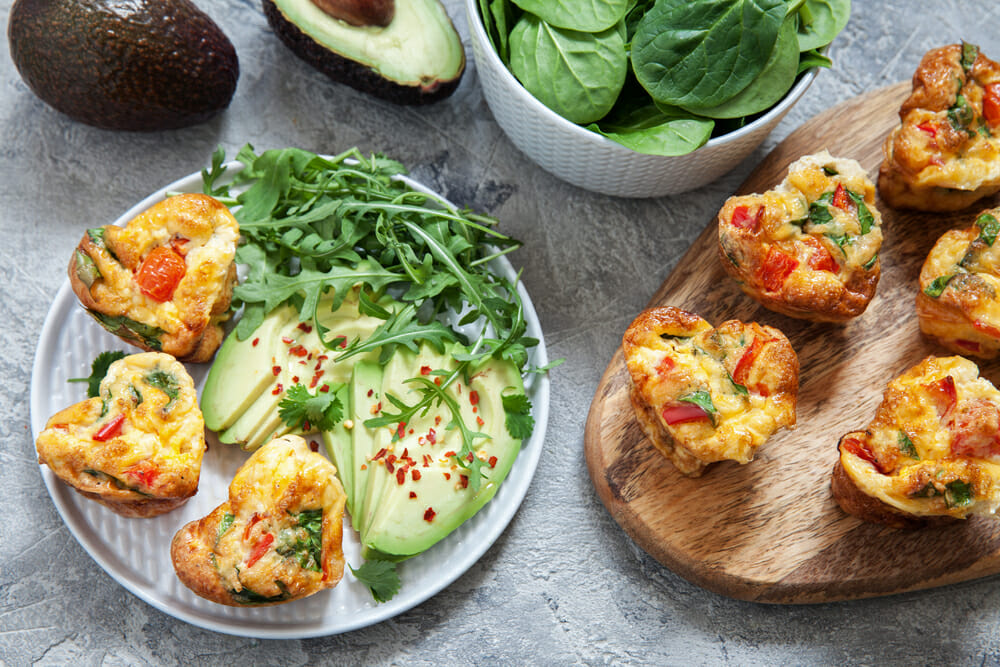 16 Keto Breakfast Recipes If you're on the ketogenic diet you'll love these super easy make ahead breakfast recipes perfect for meal prep! Get ready to start your day with delicious low carb casseroles and yummy egg muffins that you can put together in minutes & grab on the go! These keto breakfast recipes make losing weight simple even if you're a beginner! #keto #ketorecipes #ketodiet #ketogenic #ketogenicdiet #lowcarb #weightlossrecipes #LCHF