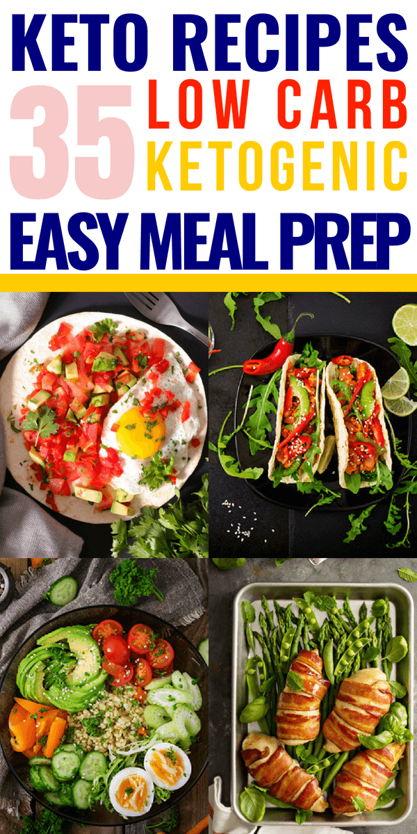 26 easy keto recipes for meal prep! These ketogenic recipes for breakfast, lunch, dinner, and snacks make losing weight on the keto diet easy-especially for beginners! Whether you're looking for keto crockpot meals for dinner, make ahead keto recipes for breakfast, on the go keto lunch ideas, or just plain easy low carb recipes for meal prep you don't want to miss these keto recipes! #keto #ketorecipes #ketodiet #ketogenic #ketogenicdiet #lowcarb #weightlossrecipes #LCHF #mealprep