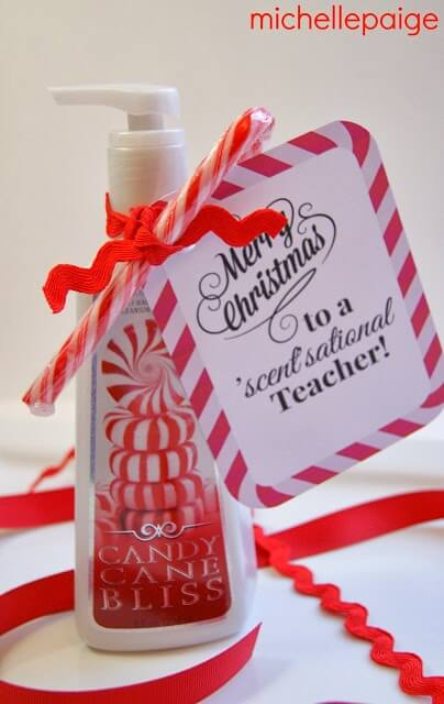 21 DIY teacher gifts! Show your teacher appreciation with one of these homemade gifts from your kids! These teacher gift ideas are perfect for any occasion whether you're looking for Christmas gifts, end of the year or back to school presents, teacher appreciation day or birthdays! Say thank you to all your kid's teachers with one of these affordable DIY teacher gifts!