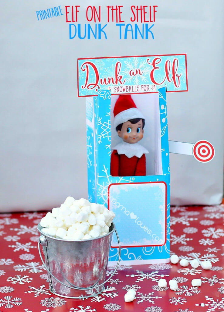 Love these elf on the shelf ideas! So much creative fun for kids and easy too! I've seen a lot of elf ideas, but these are too cute! Lots of last minute Elf on the Shelf ideas you can do quick on this list & I'm using this elf hack! Wow! Don't miss the hilarious elf in the bathroom! #elfontheshelf #elfontheshelfideas #ElfIdeas