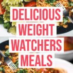 55 Weight Watchers Meals with Points Weight Watchers recipes that make losing weight & staying healthy easy! 55 Weight Watchers recipes for breakfast, lunch, dinner, & dessert with points /smartpoints! With make ahead recipes for the crockpot and easy Weight Watchers meals you can make in 30 minutes or less you don't want to miss this! #ww #smartpoints #freestyle #healthy #healthyrecipes #dinner