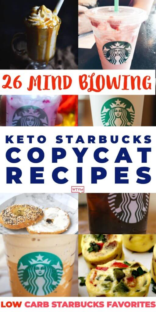 If you're on the ketogenic diet prepare to be amazed. These low carb, keto Starbucks copycat recipes are nothing short of amazing! You may be surprised to learn how easy it is to make your all-time favorite Starbucks drinks (hot & cold) keto-friendly at home! Frappuccinos, blended coffees, Pumpkin Spice lattes & all the best Starbucks breakfasts & desserts! #keto #ketorecipes #ketodrinks #lowcarb #sugarfree #Starbucks #KetoStarbucks