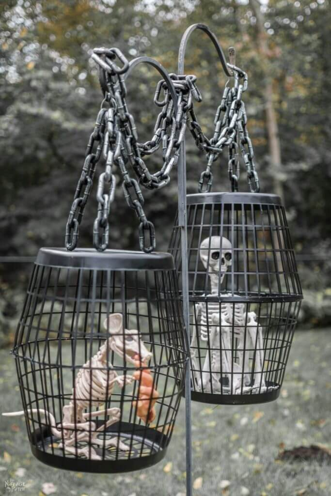 Dollar Store Halloween Decoration Ideas High End Look On The Cheap