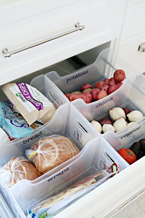 75 Genius Dollar Store Hacks That'll Organize Every Room - i heart organizing