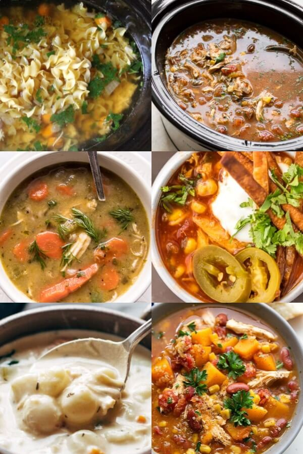 Healthy Crockpot Dinners