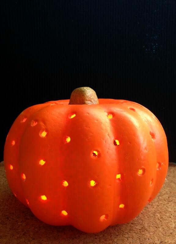Dollar Store Halloween Ideas Pumpkin Lantern Premeditated Leftovers