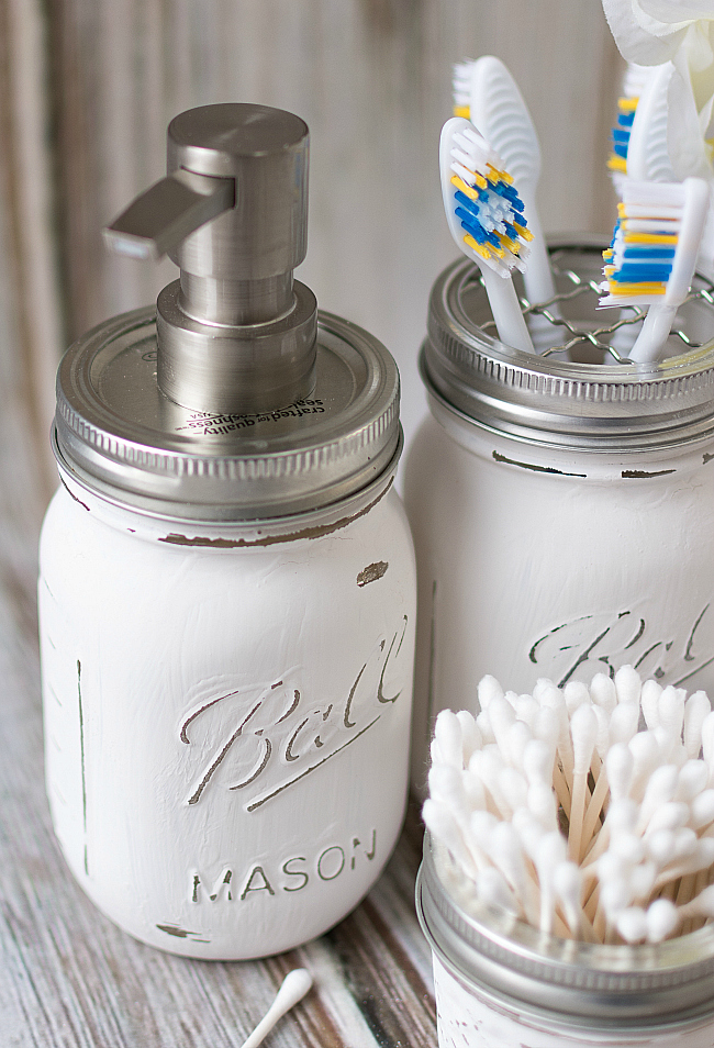 75 Genius Dollar Store Hacks That'll Organize Every Room - Mason Jar Crafts