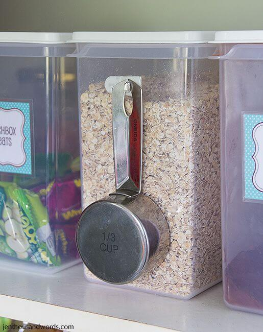 75 Dollar Store Hacks Measuring Spoon Storage A Thousand words
