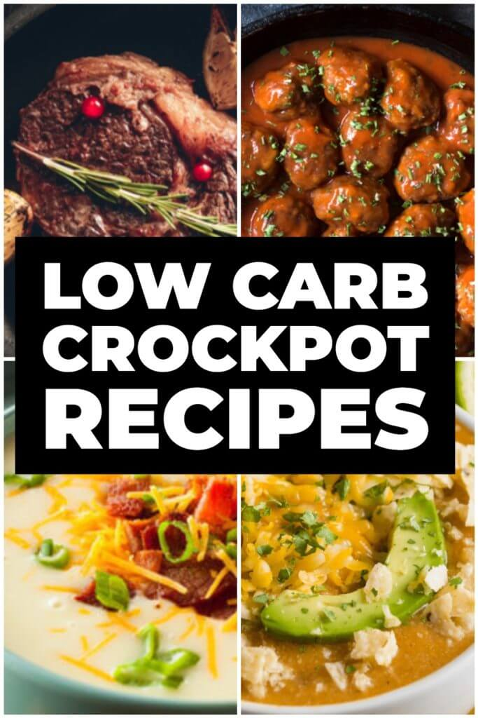 55 Healthy Crockpot Recipes! Finding slow cooking healthy dinner recipes just got easier with these 55 healthy dinner recipes for your crockpot! Tons of variety with chicken, beef, pork, & ground turkey plus sweet potato soups & chilis! Whether you're on the clean eating, low carb, Weight Watchers, vegetarian, Paleo, or Whole30 diet you'll find a new healthy easy crockpot meal for dinner here! #crockpot #crockpotrecipes #healthy #dinner #slowcooker #healthyrecipes