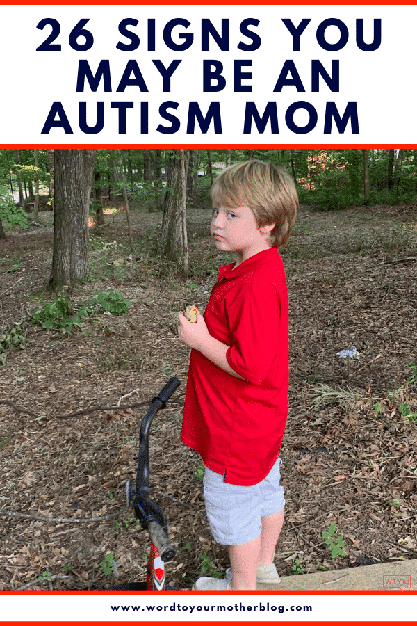 26 Funny Quotes About Being An Autism Mom. If you have a child with autism you'll understand these funny quotes about life and how to deal with the stressful situation parenting a child with autism spectrum disorder brings with strength and humor.